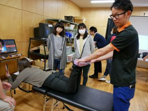 吉村院長が福島県西郷第二中学校にてボランティアに参加