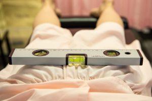 腰痛治療前写真