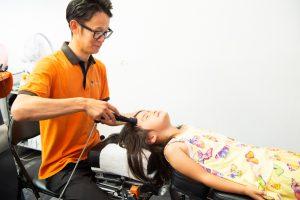 腰痛治療写真